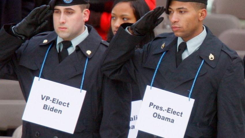 Obama Inaugural Rehearsal
