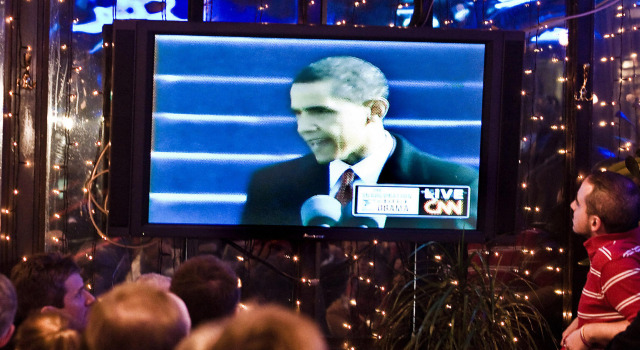 0320009 Obama on TV P1