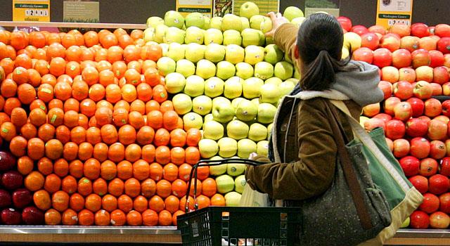 061109 Fruit Vegetables Supermarket