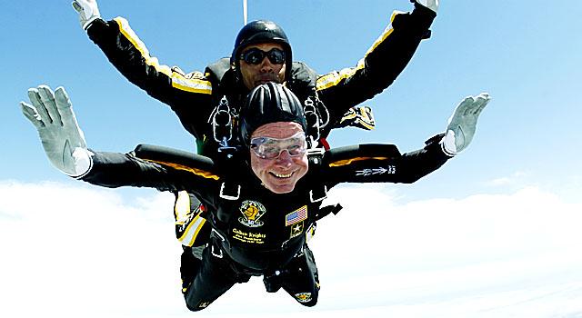 061209 Bush Parachute Jump Best
