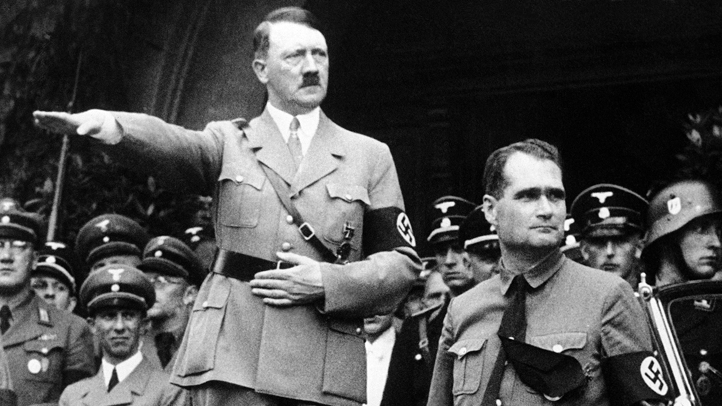 Germany Adolf Hitler and Rudolf Hess
