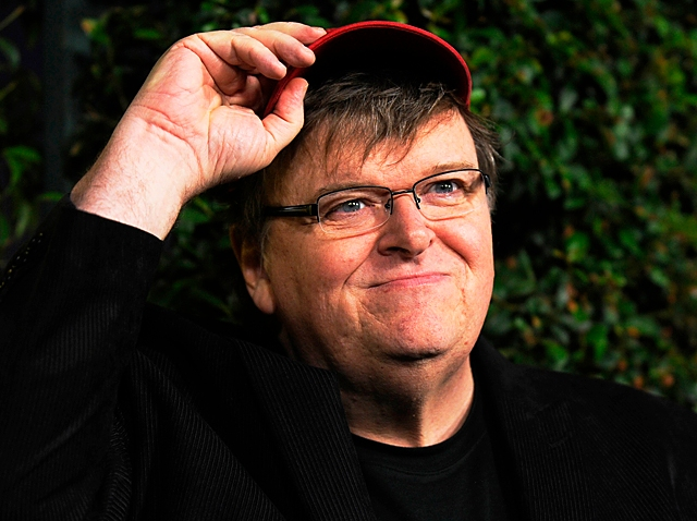 091909 Michael Moore Capitalism A Love Story Screening