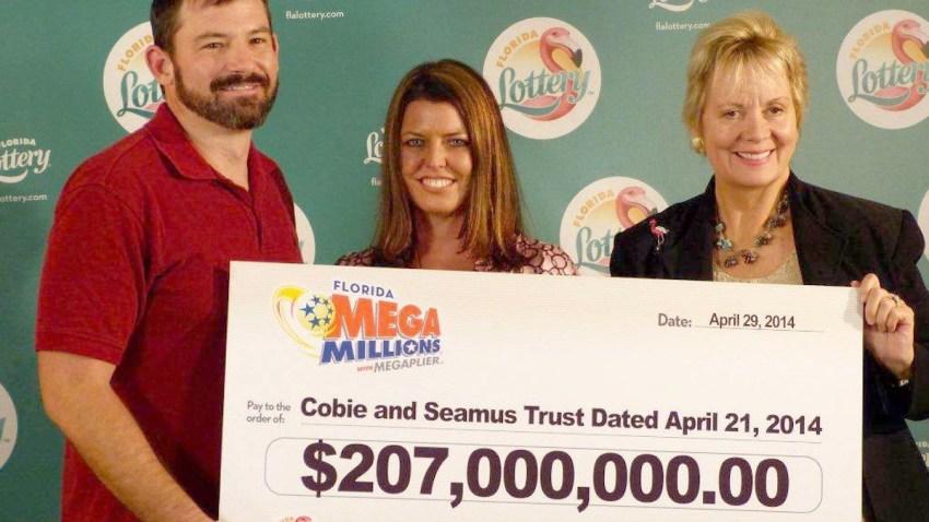 Florida Mega Millions Winners Claim $207 Million Prize ...