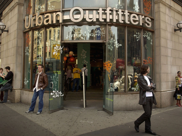 102708 Urban Outfitters Store Front