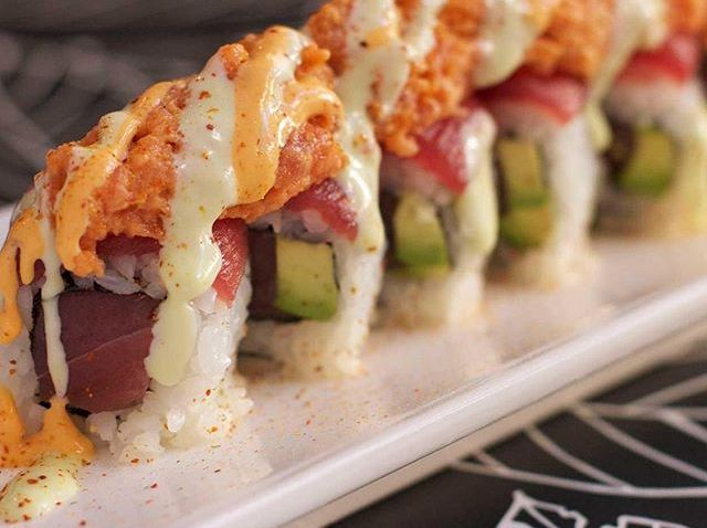 [phillygram] Want $20 in FREE sushi?! Follow @trycaviarphilly on Twitter and tag us in a post describing your favorite specialty sushi roll. We'll pick the ten most drool-inducing descriptions. Two winners every hour from 11-4 today! Get rolling, Phi