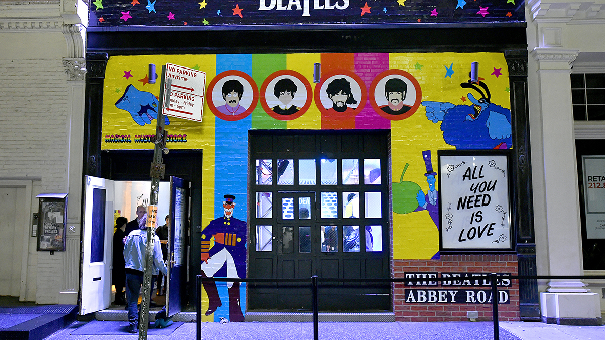Beatlemania Heads to NYC Thanks to Pop-Up Shop