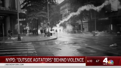 NYPD Believe Outside Agitators Planned Violent Attacks At Protests