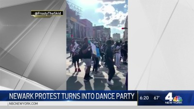 Newark Protest Turns Into Dance Party