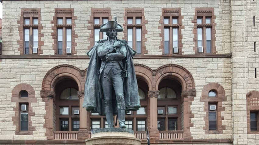 statue of Philip Schuyler