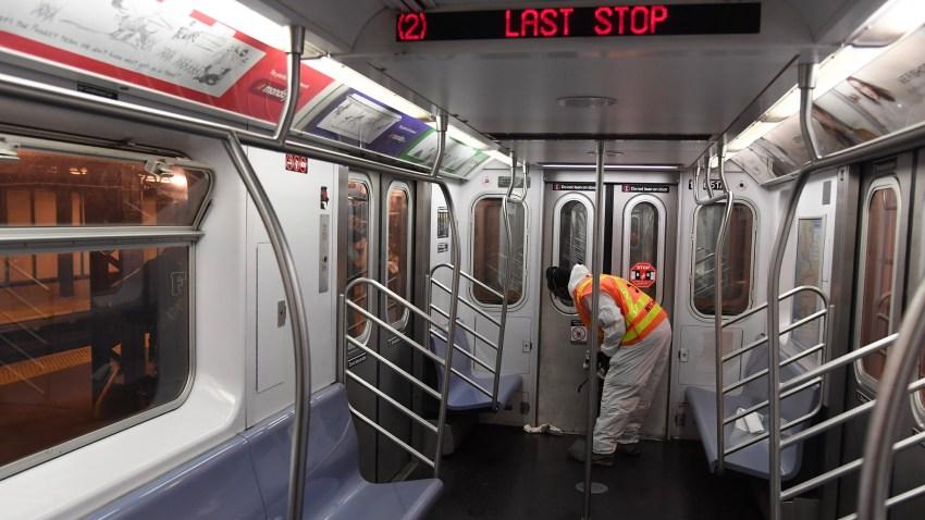 MTA disinfect subways