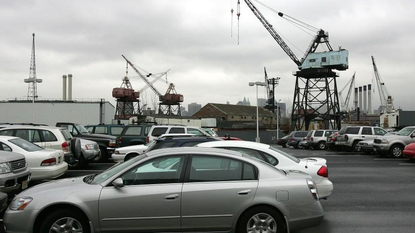 04 13 09 Steiner Studios Brooklyn Navy Yard parking lot