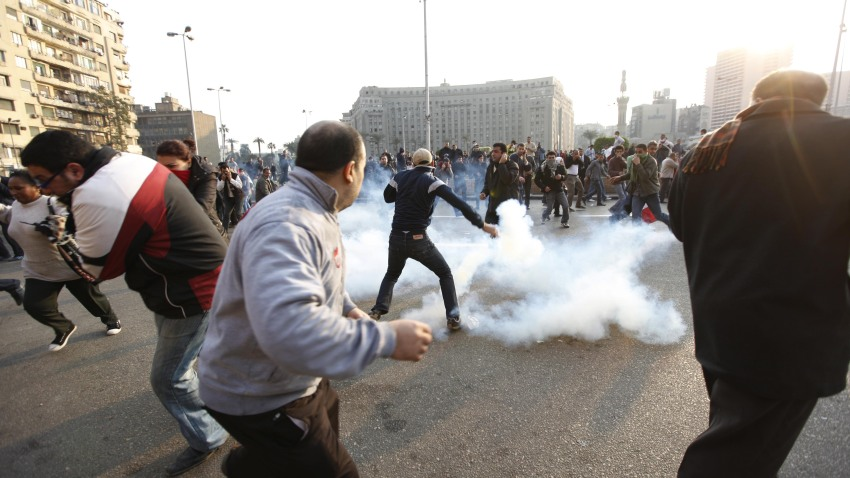 Mideast Egypt Protest