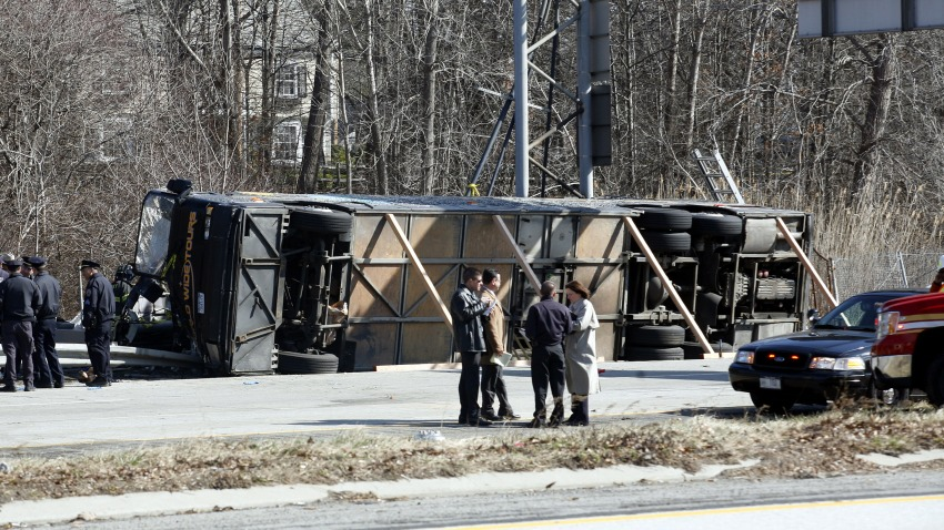 Tour Bus Accident