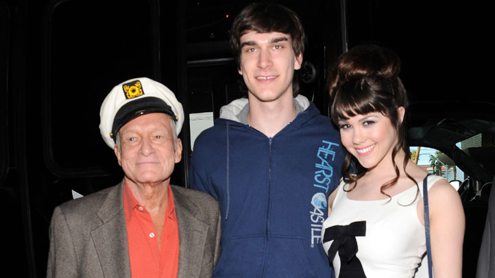 Hugh Hefner's 85th birthday celebration at the Palms Resort, Las