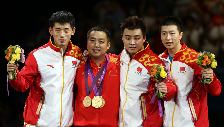 London Olympics Table Tennis Men