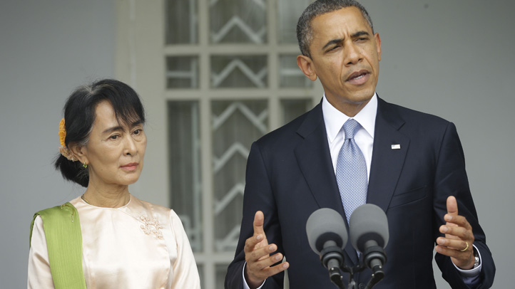 Myanmar US Obama