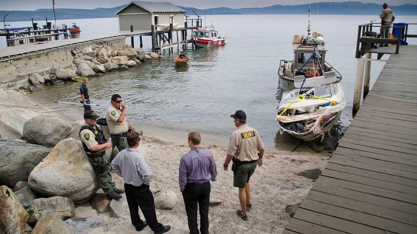 Couple Dead Tahoe Boat Crash