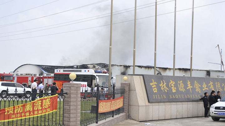 China Deadly Fire