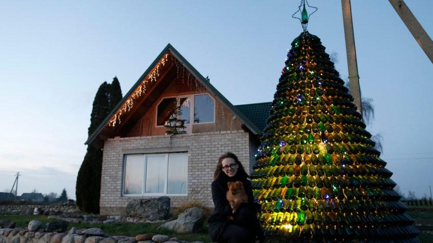Lithuania Bottled Tree