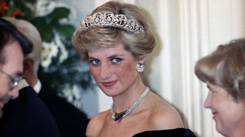 British Royalty Princess Diana Jewelry Diadem