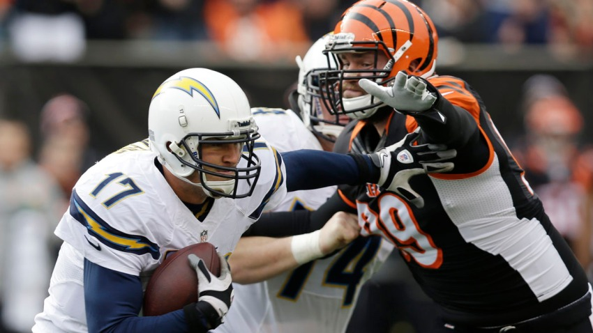 Chargers Bengals Football