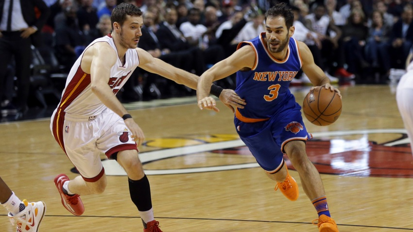 Knicks Heat Basketball