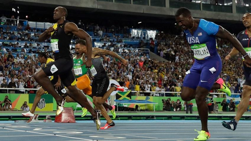Rio Olympics Athletics Usain Bolt