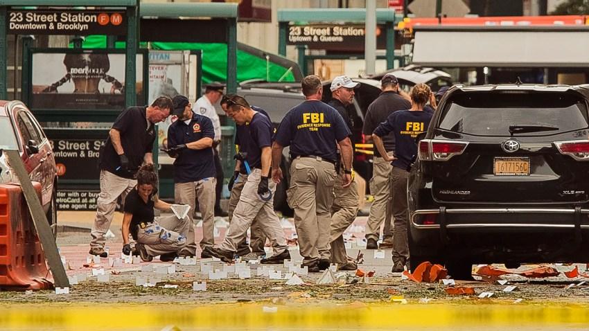 Manhattan Explosion