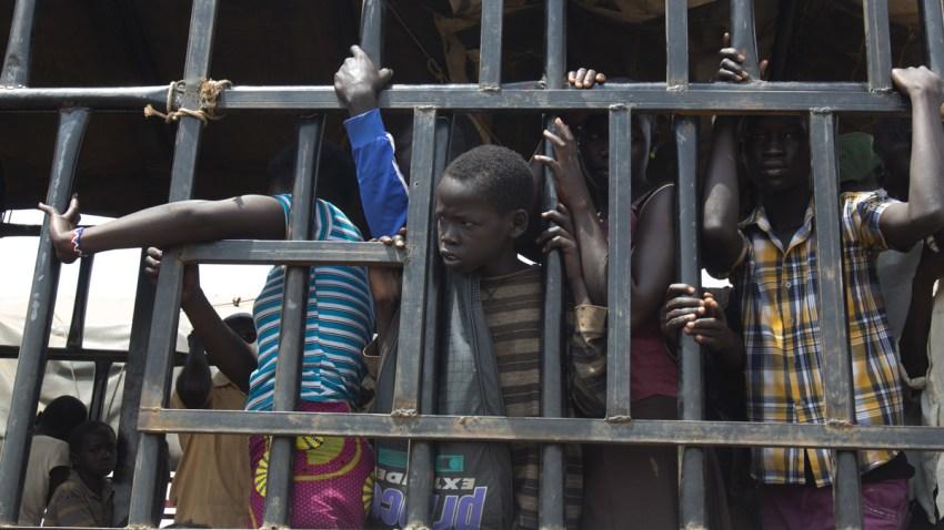 APTOPIX South Sudan Child refugees