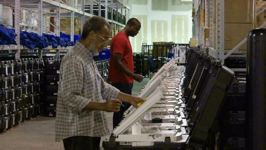 Georgia Election Security Flaw