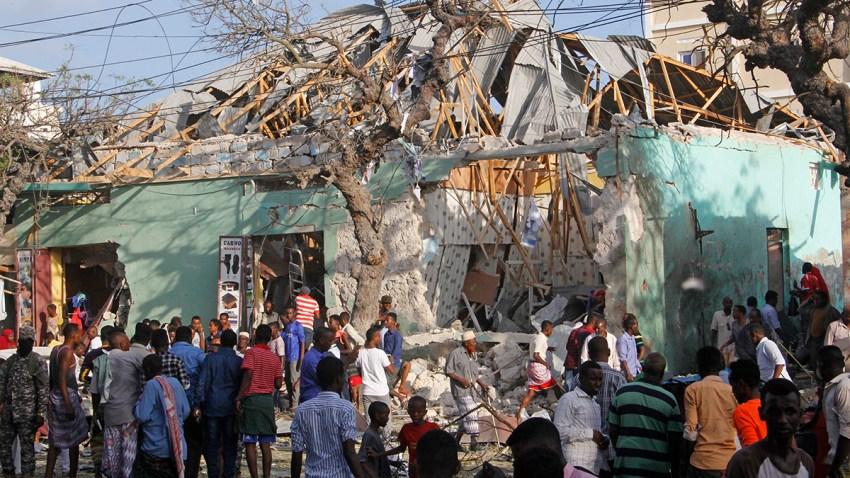 Somalia Explosion