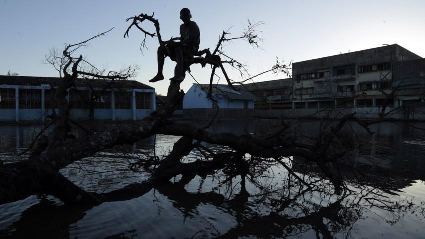 APTOPIX Mozambique Cyclone