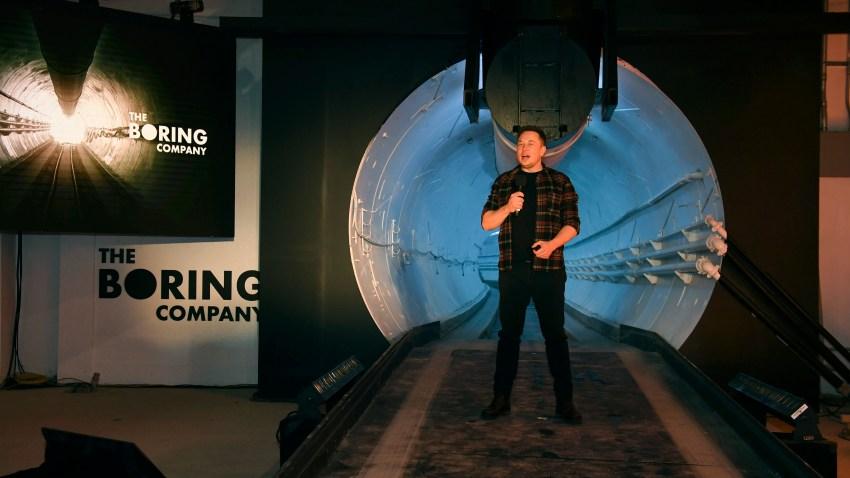 Vegas Elon Musk Tunnel