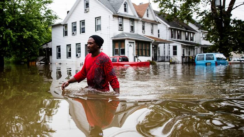 APTOPIX Severe Weather-New Jersey