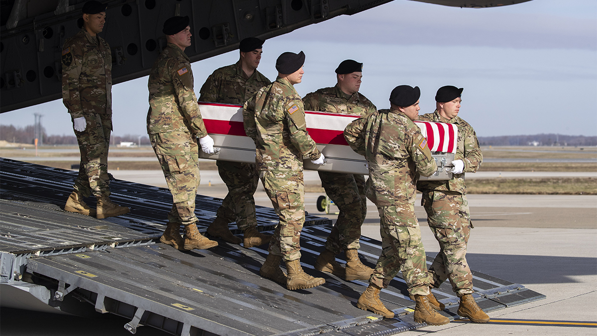 Remains of Soldier From NJ Killed in Afghanistan Returned
