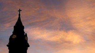 St. Augustine Roman Catholic Church in Philadelphia as seen on Sept. 27, 2015.