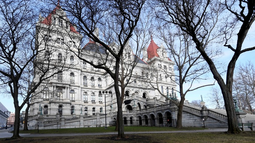 An Exterior view of the New York State Capitol on Tuesday, Jan. 14, 2020, in Albany