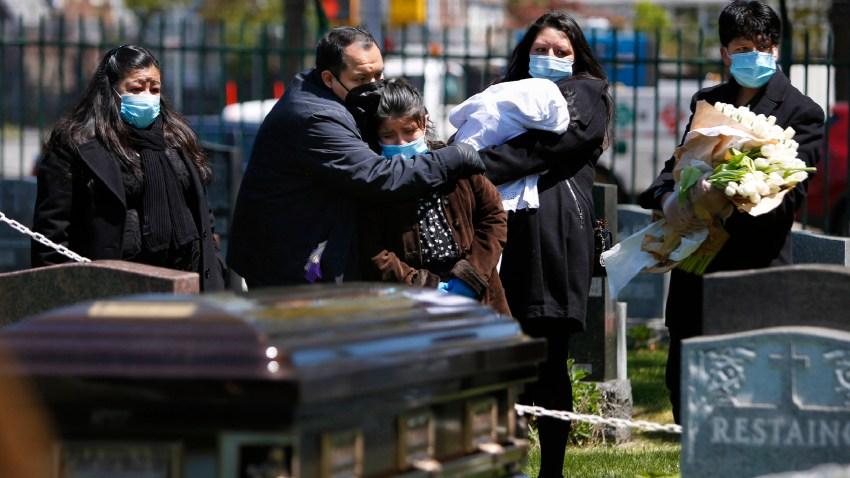 coronavirus funeral nyc