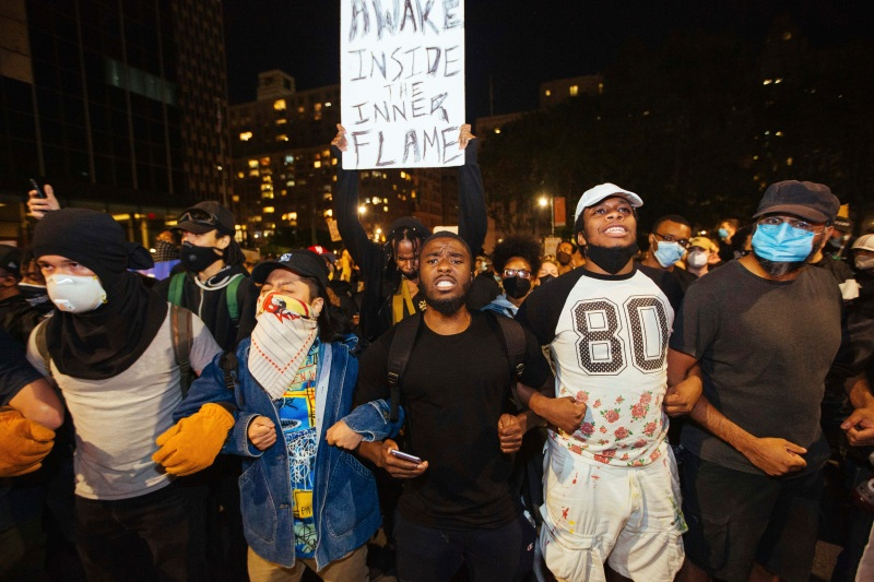 Photos: Scenes From Week-Long Protests in New York City
