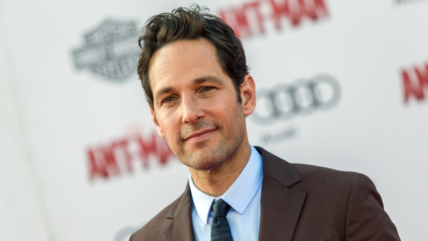 """In this June 29, 2015, file photo, Paul Rudd attends the world premiere of """"Ant-Man"""" at the Dolby Theatre in Los Angeles."""