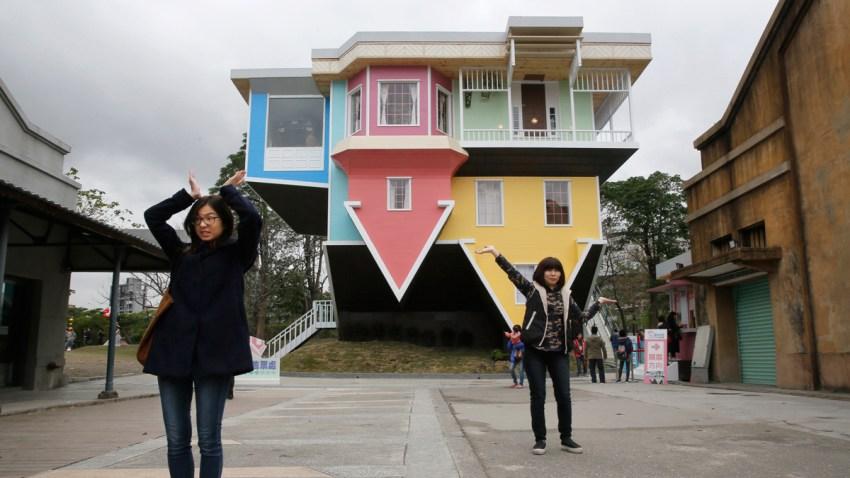 Taiwan Upside Down House