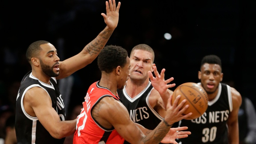 Raptors Nets Basketball