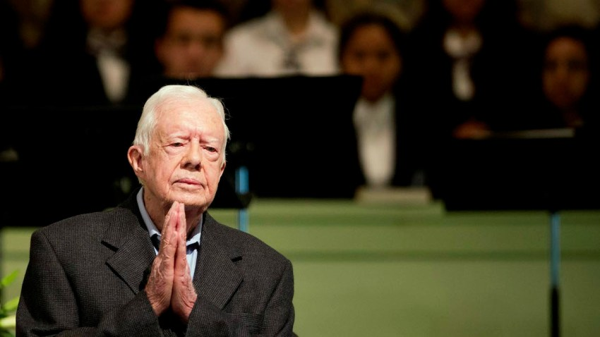 APTOPIX Jimmy Carter
