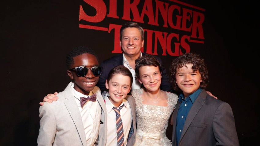 "Red carpet premiere of Netflix original series ""Stranger Things"""