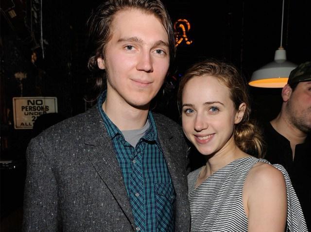 Actors Paul Dano and Zoe Kazan-640