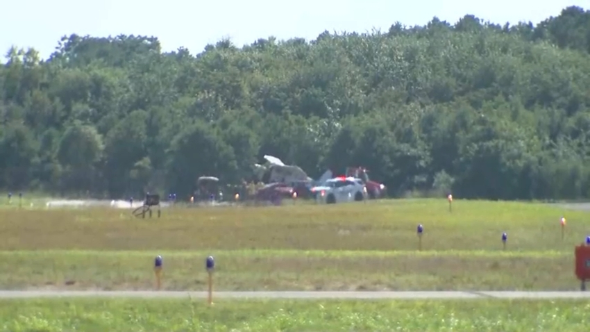 Airplane Incident Lakewood NJ