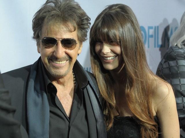 Al Pacino and Lucila Sola-640
