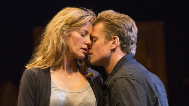 Anna Gunn and Billy Magnussen in Sex with Strangers photo by Joan Marcus 0648r 2