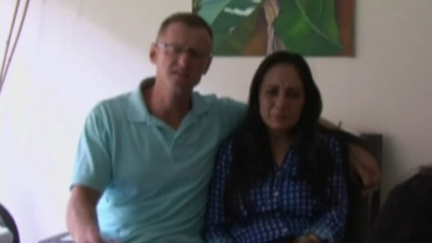 Richard Cushworth and Mercedes Casanellas BABY SWITCHED AT BIRTH EL SALVADOR