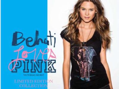 Behati for Pink Victorias Secret